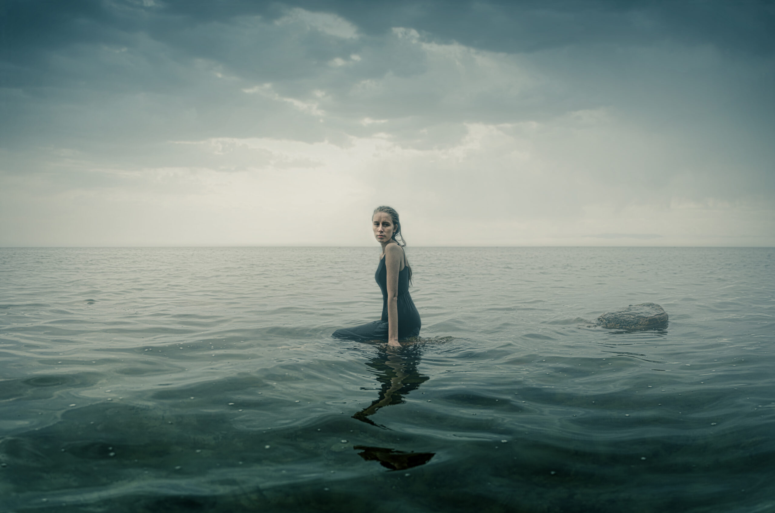 HannaGreth in the sea